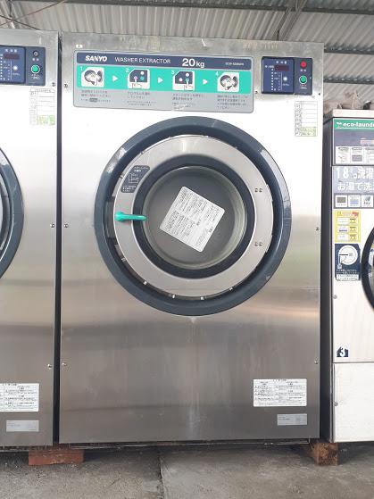 Máy giặt công nghiệp loại  20kg