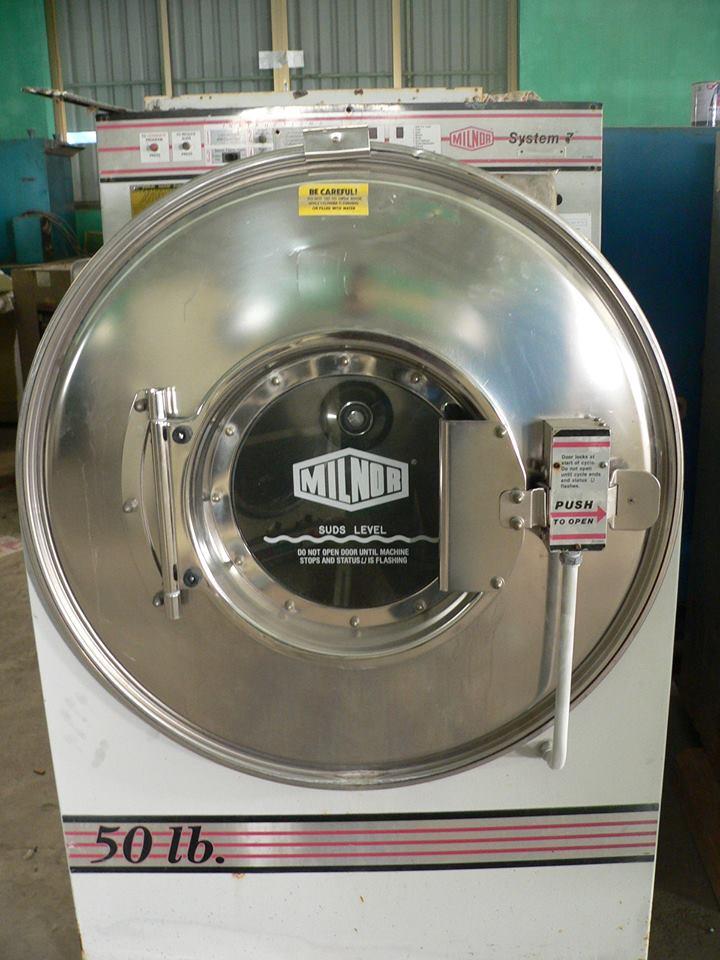 Máy giặt công nghiệp cũ 50LB