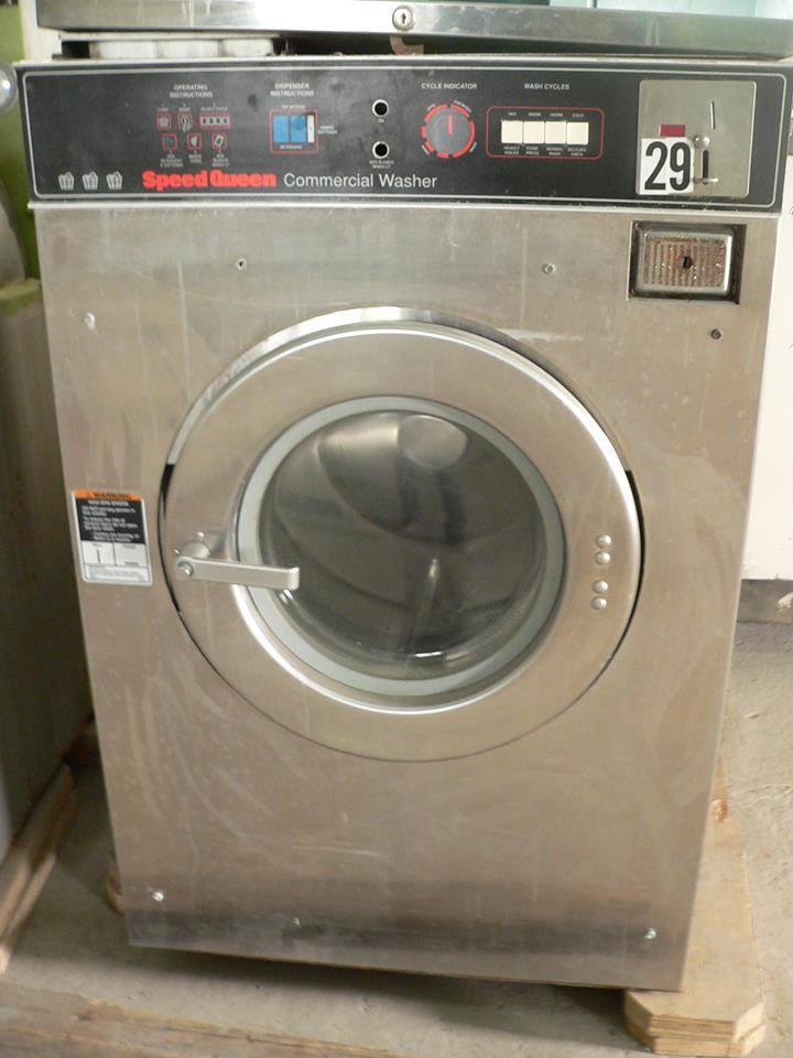Máy giặt công nghiệp cũ ELECTROLUX
