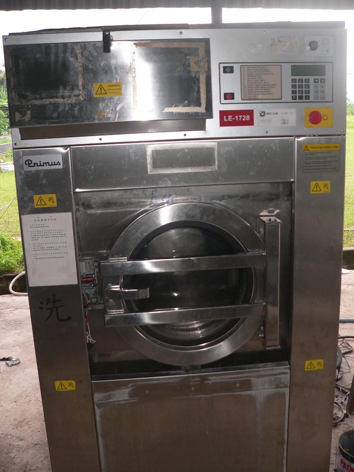 Máy giặt công nghiệp cũ Nhật Bản